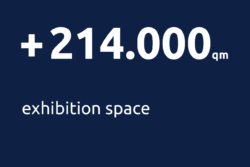 214.000 qm exhibition space