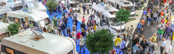 Kleurplaten Auto Met Caravan.Home Trade Fair Dusseldorf Germany
