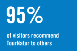 95% of visitors recommend TourNatur to others